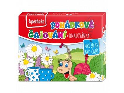 Apotheke Dárková kolekce Pohádkových čajů BIO 30ns
