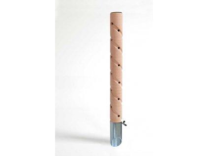 Psí pisoár design 3 dřevěný 40 cm