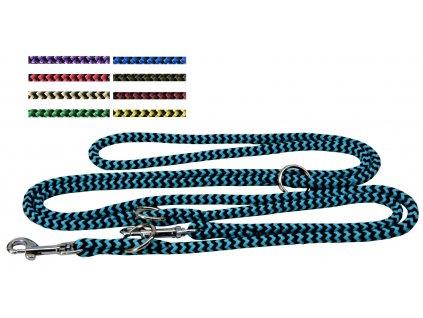 Vodítko lano přepínací různé dekory 8