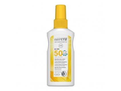 lavera Opalovací mléko SPF 50 pro děti 100 ml