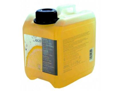 Eco Cosmetics Tekuté mýdlo s vůní citrónu BIO (náplň 2 l)
