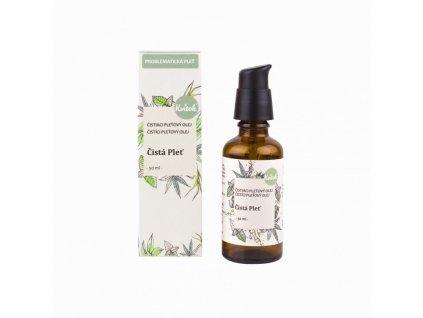 Kvitok Čisticí olej Čistá pleť pro problematickou pokožku (50 ml)
