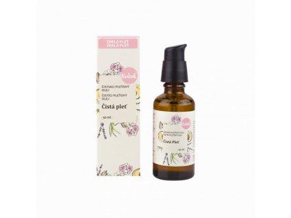 Kvitok Čisticí olej Čistá pleť pro zralou pokožku (50 ml)