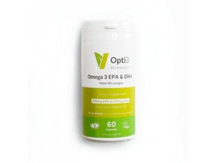 Vegetology Opti3 Omega - EPA a DHA s vitaminem D3 (60 tablet)