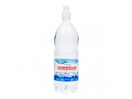 Voda pramenitá neperlivá sport cup 1 l GRABMÜLLER
