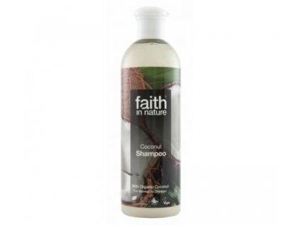 Faith in Nature přírodní BIO Kokosový šampon 400 ml