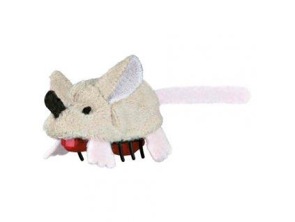 Plyšová běhací myš na baterie 5,5 cm (RP 0,90 Kč)