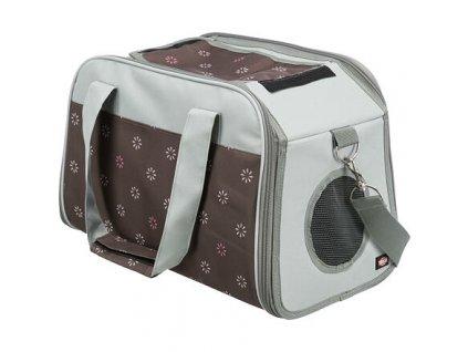 Cestovní taška LIBBY 25 x 27 x 42 tmavošedá/šedá