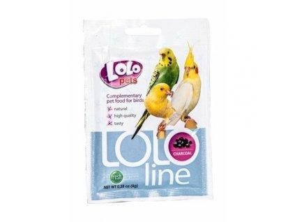 LOLOLINE CHARCOAL - dřevěné uhlí pro ptáky 8 g