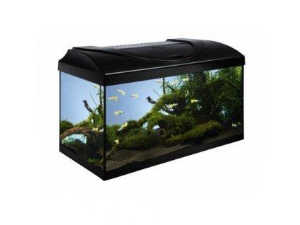 Akvarijní set 60 - černá 60x30x30 cm (RP 2,90 Kč)