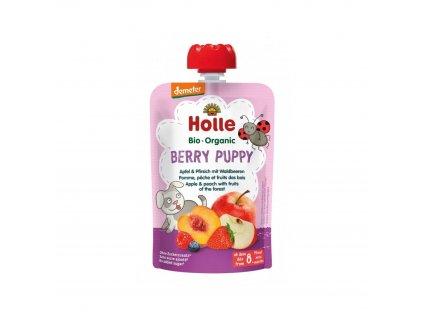 Ovocné pyré - BERRY PUPPY BIO pro děti 100 g Holle