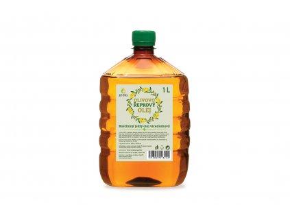 Olej olivovo - řepkový za studena lisovaný 1000ml Akce !!!