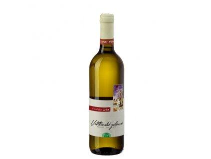 Víno bílé Veltlínské zelené ročník 2019 - pozdní sběr (suché) 750 ml BIO VINAŘSTVÍ VÁLKA