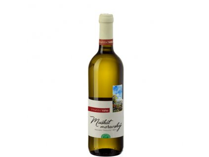 Víno bílé Moravský muškát ročník 2019 - kabinetní (polosuché) 750 ml BIO VINAŘSTVÍ VÁLKA