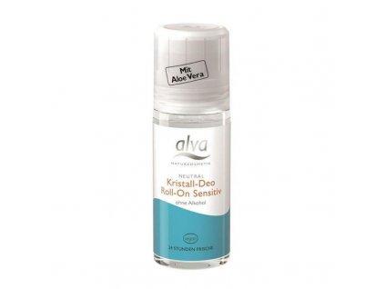 ALVA Deo krystal roll-on SENSITIV 50 ml