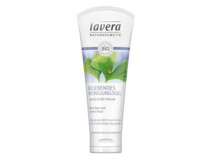 lavera Osvěžující čistící gel Gingo & Bio hrozen 100 ml DE