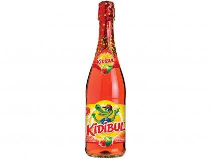 Dětský šumivý nápoj Jablko a Jahoda 750 ml