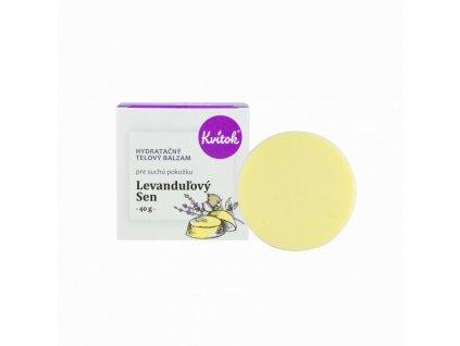Kvitok Hydratační tělový balzám Levandulový sen (40 g)