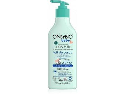 OnlyBio Hypoalergenní tělové mléko pro miminka (300 ml)