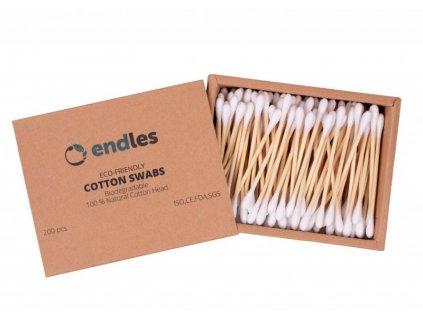 Endles by Econea Vatové tyčinky do uší (200 ks)