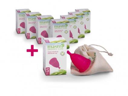 Menstruační kalíšek MASMI Organic Care vel. S AKCE 7+1