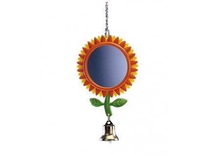 Hračka pták plast Zrcátko květina velká Nobby 24 cm