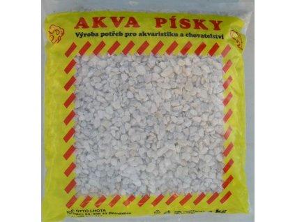 Písek akvarijní Akva č.2 - bílý 3 kg 4 - 6 mm