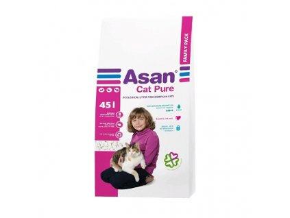 Podestýlka cat Asan - Pure 45 l