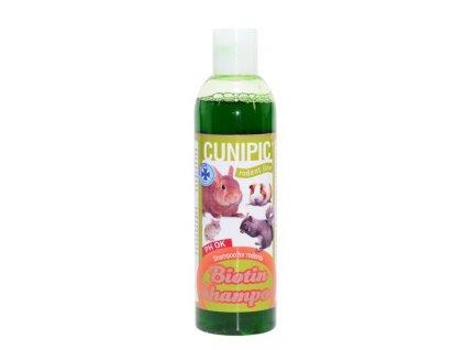 Šampón pro drobné savce Biotina Cunipic 250 ml