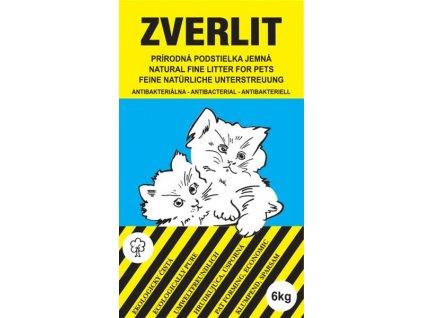 Podestýlka Cat Zverlit jemná - modrá 6 kg