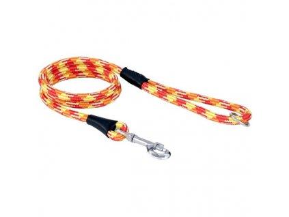 Vodítko textil lano ALPINE červené 1,2x150 B&F