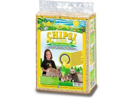 Podestýlka hlod. Chipsi Citrus 60l, 3,2kg