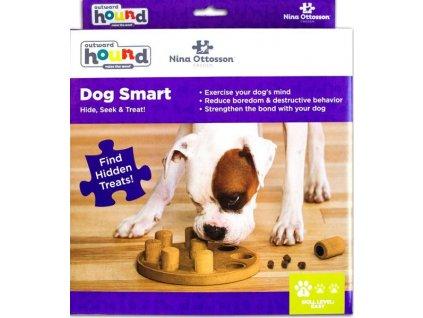 Hračka plast interaktivní Smart RW hnědá 1 ks