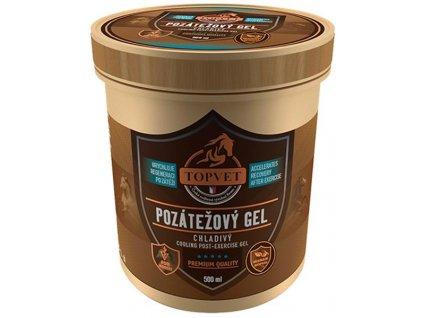 Pozátěžový gel chladivý 500ml Topvet