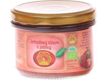 Bio jablečno-jahodový džem Svobodný statek na soutoku 240 g