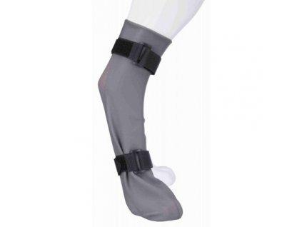 Ochranná silikonová ponožka, XL: 12 cm/45 cm, šedá