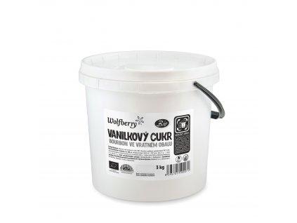 Vanilkový cukr BIO 3 kg Wolfberry