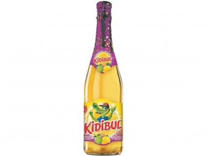 Dětský šumivý nápoj Jablko a Tropical 750ml