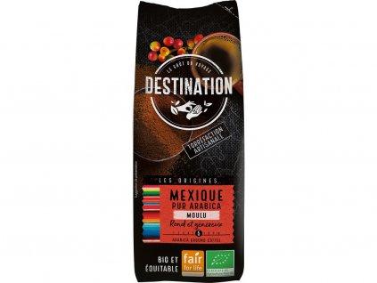 Bio káva mletá Destination single origin Mexiko 250g