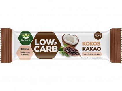 Tyčinka Low carb kokos kakao 40g