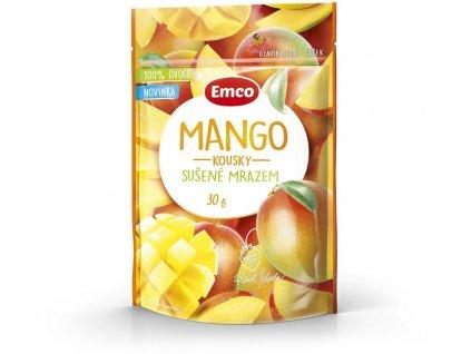 Mrazem sušené mango 30g