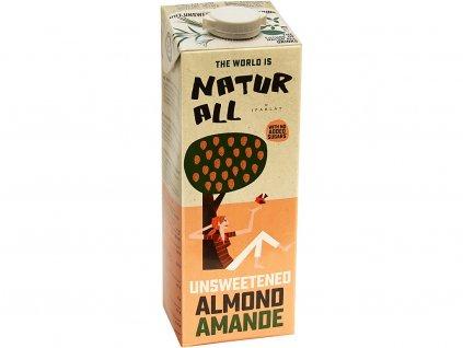 Mandlový neslazený nápoj originál 1l