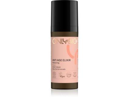 OnlyBio Obnovující noční pleťový krém Anti Age Elixir (50 ml)