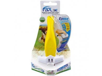 Hřeben FoOlee Easee DOG M žlutý