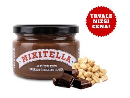Mixitella - Arašídy s hořkou čokoládou Uganda (3 ks)