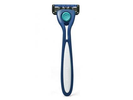 Preserve Holicí strojek Shave 5 (vč. 1 hlavice) - mořsky modrý