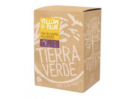 Yellow & Blue Gel do myčky z mýdlových ořechů 5 l z mýdlových ořechů v bio kvalitě