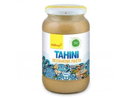 Tahini sezamová pasta BIO 1000 g Wolfberry
