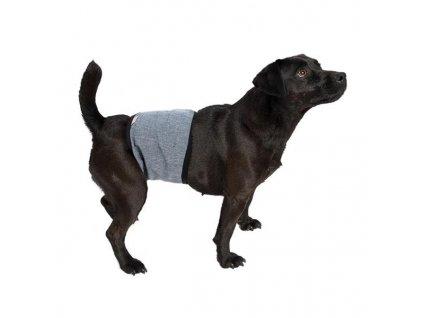 """Inkontinenční pás softshell """"Rex"""" žíhaný šedý XL"""