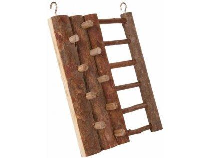 Hračka hlod. dřevo lezecká stěna 16x20cm Trixie